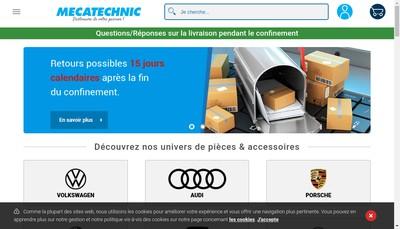 Site internet de Mecatechnic