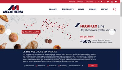Site internet de Mecatherm