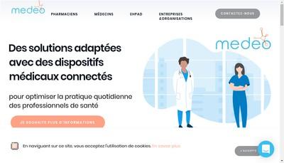 Site internet de Medeo