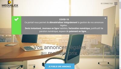 Site internet de Formalex
