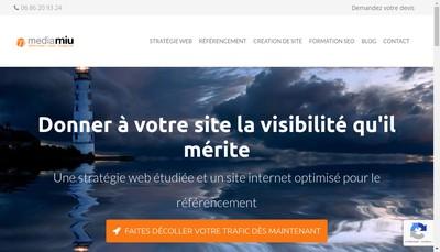 Site internet de Mediamiu