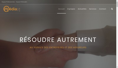 Site internet de Mediapj