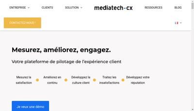Site internet de Mediatech Groupe