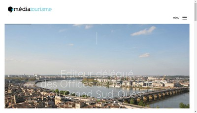 Site internet de Mediatourisme