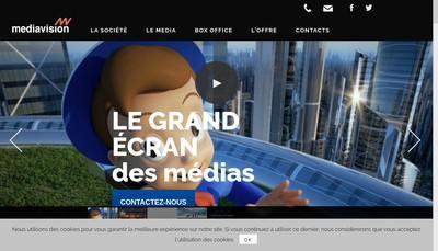 Site internet de Mediavision et Jean Mineur