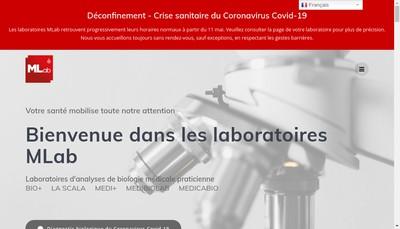 Site internet de Medicabio