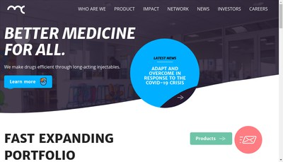 Site internet de Medincell