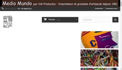 Site internet de Medio Mundo