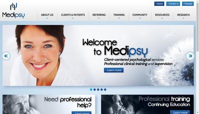 Site internet de Medipsy