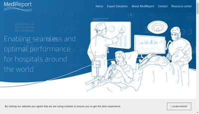 Site internet de Medireport