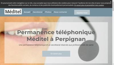 Site internet de Meditel