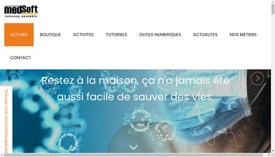 Site internet de Medsoft