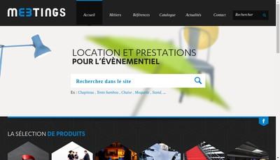 Site internet de Les Transats