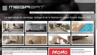 Site internet de MEGABAT