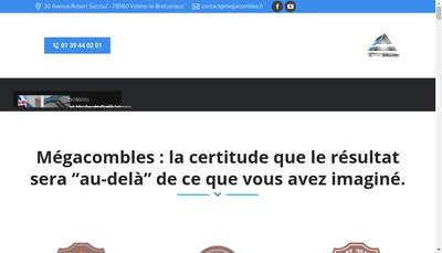 Site internet de Mega-Combles