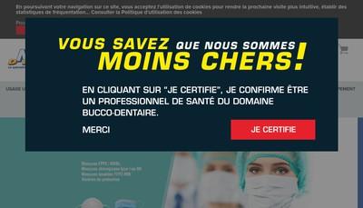 Site internet de Mega Dental