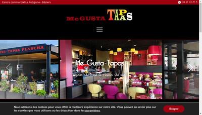 Site internet de Me Gusta Tapas