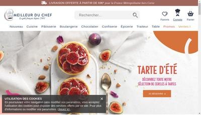 Site internet de Meilleur du Chef
