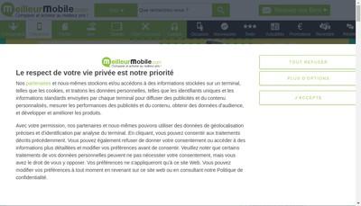 Site internet de MEILLEUR CHOIX