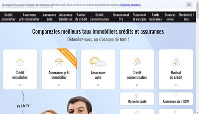 Site internet de Meilleur Taux Com