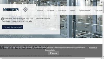 Site internet de Meiser
