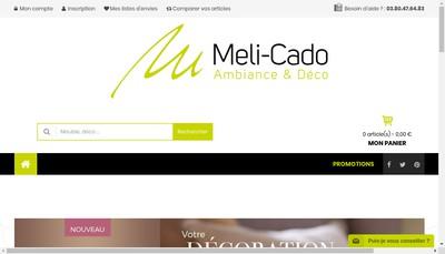 Site internet de Melicado
