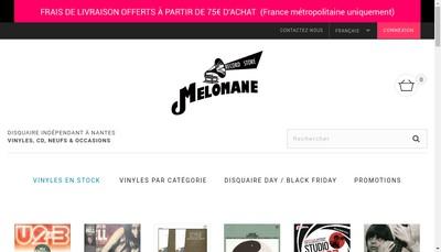 Site internet de Melomane