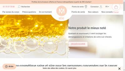 Site internet de Meme Cosmetics