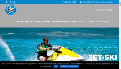 Site internet de Jet Academie