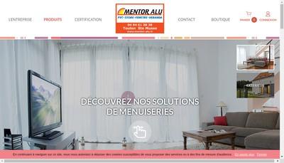 Site internet de Mentorboutiquealumiroitsoleildirectalumi