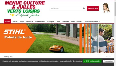 Site internet de Menue Culture
