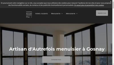 Site internet de Artisan d'Autrefois