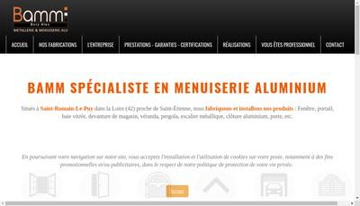 Site internet de Bory Alex Metallerie Menuiserie