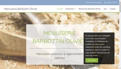 Site internet de Menuiserie Barbottin Olivier