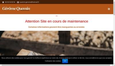 Site internet de Menuiserie Quemin