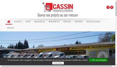 Site internet de Societe Yves Cassin