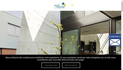 Site internet de Maison du Calfeutrage