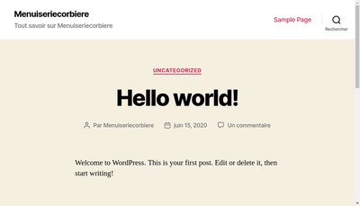 Site internet de Corbiere