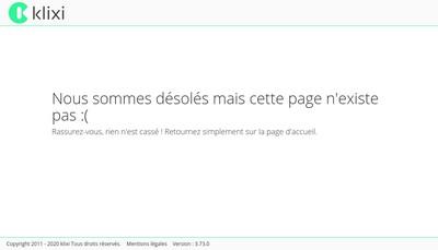 Site internet de SAS Menuiserie Gohier