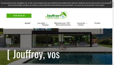 Site internet de Jouffroy Freres