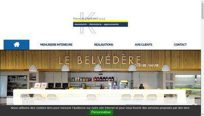 Site internet de Menuiserie Pierre Kleinhenny SA