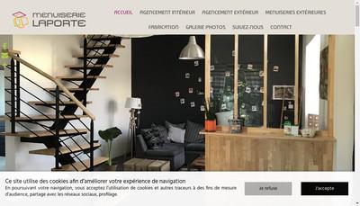 Site internet de Menuiserie Laporte