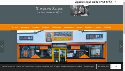 Site internet de SARL Claude Lesquel