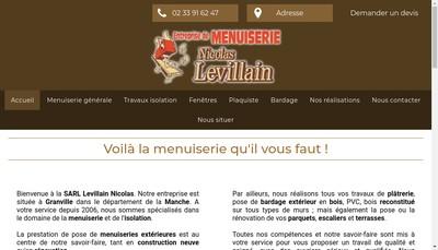 Site internet de Levillain Nicolas