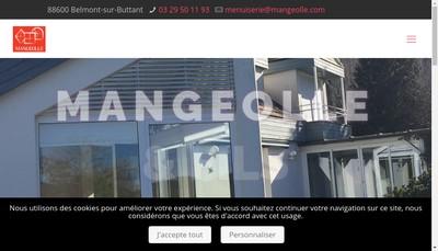 Site internet de Mangeolle et Fils