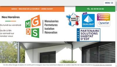 Site internet de Mgds