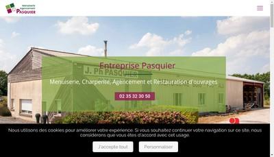 Site internet de Entreprise Jean-Philippe Pasquier