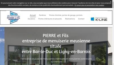 Site internet de SARL Pierre et Fils