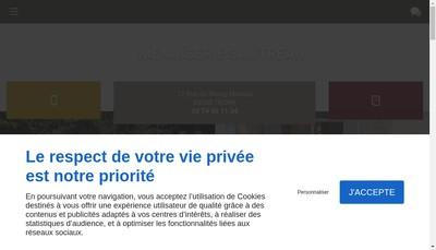 Site internet de Menuiserie Sautreau
