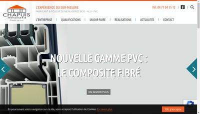 Site internet de Etablissements Chapuis